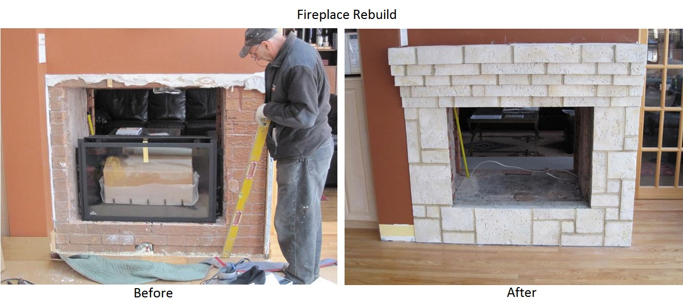Markham Masonry - Fireplaces Gallery Image 1